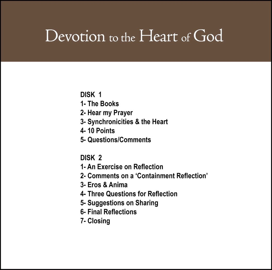 Devotion To The Heart Of God Cd1 Don Bisson Featuring Jungian